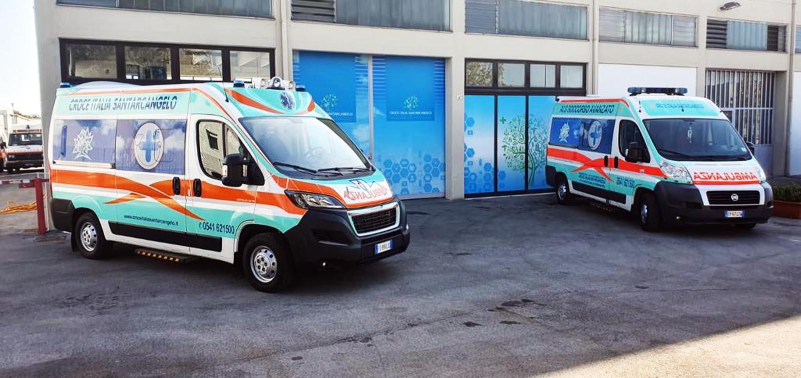 Ambulanza rapida e sei subito a casa!
