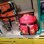 kit di soccorso in autobulanza